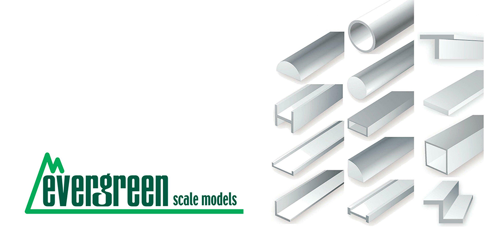 Evergreen plastic profiles and boards