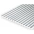 Plastic plate V 1,3x0,5mm