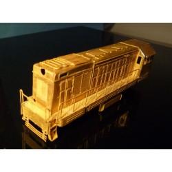 T458.1/721/ČME2 - stavebnica motorovej lokomotivy (N)