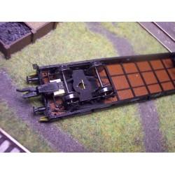 Pao - stavebnica plošinového vozňa
