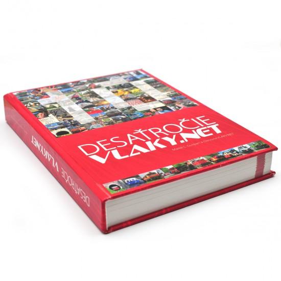 Kniha Desaťročie VLAKY.NET