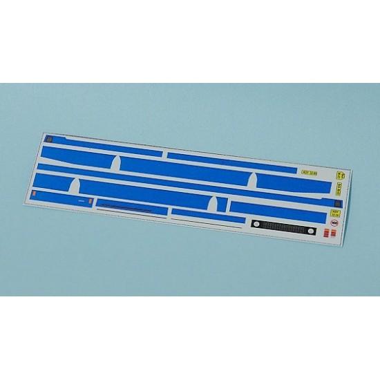 Decal Karosa C734 blue stripes (H0)