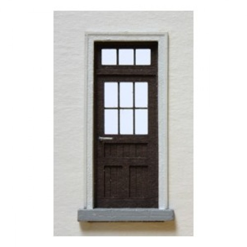 Dvere presklené so svetlíkom (TT)